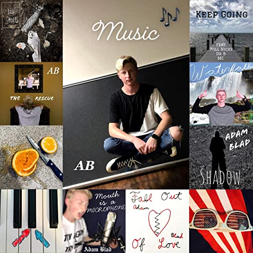 bc121db87 Best of Adam Blad (Instrumentals) by Adam Blad on Amazon Music ...