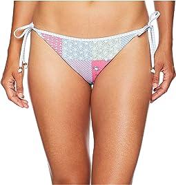 Heritage Patchwork Reversible Bikini Bottom