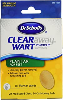 Dr. Scholl's Clear Away Wart Remover Plantar 24 ea