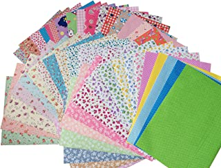 longshine-us 10PCS A4 Premium Sticky Back Printing Self-Adhesive Non-Woven Felt Quilting Fabric Sewing Scrapbooking Sticker for DIY Craft (A4)