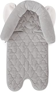 Carter's Infant Head Support for Carseats, Animal Design Elephant, Grey/White
