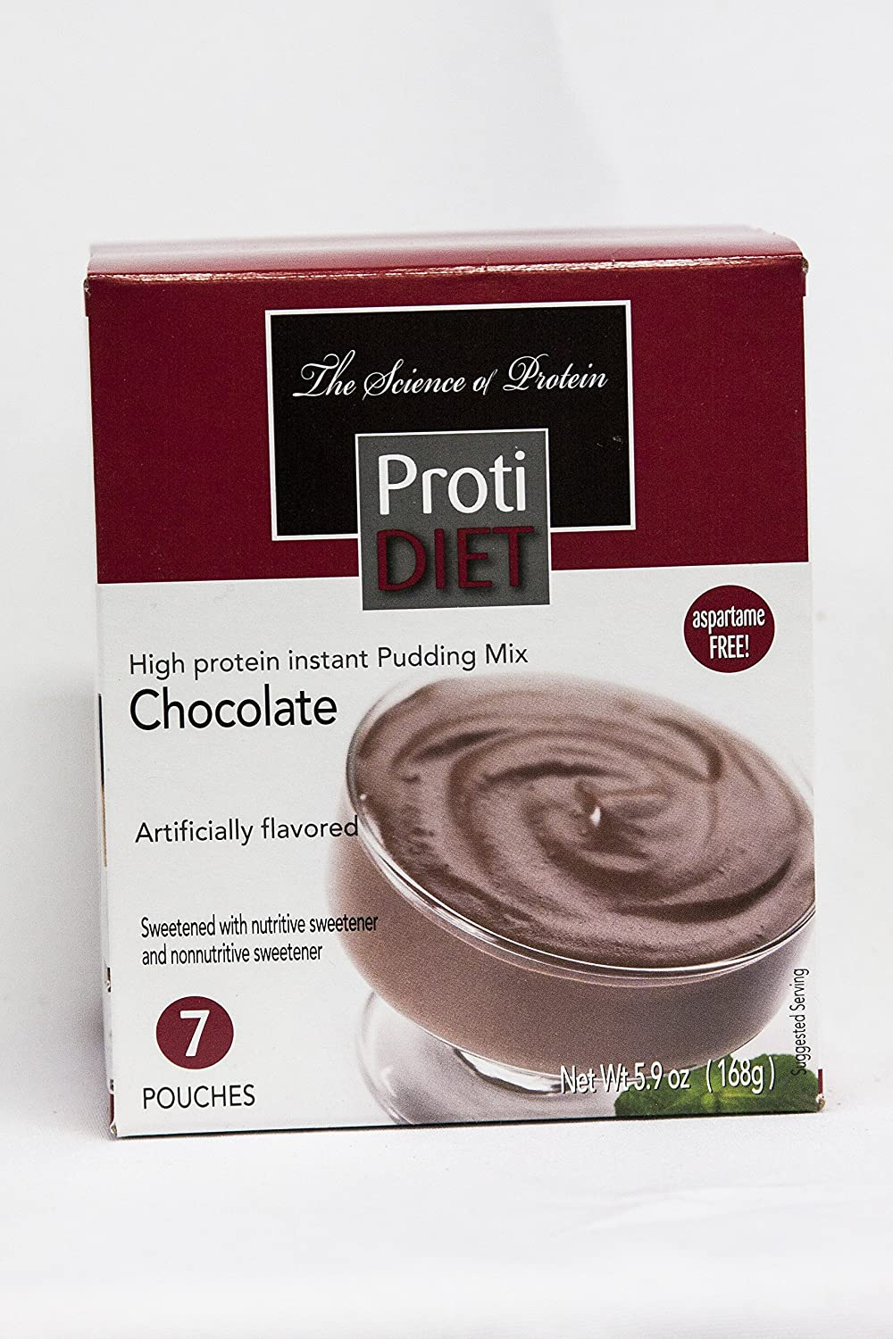 Protidiet Chocolate Flavor High Protein Instant Pudding Mix (7 -