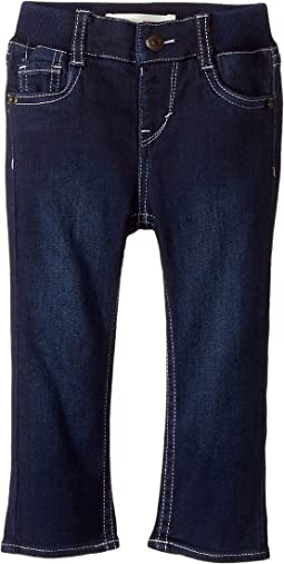 Rib Waistband Skinny Jeans (Infant)