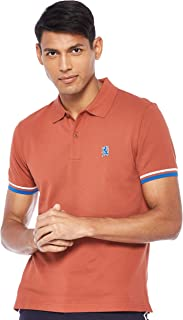 Giordano mens 01017008 Embroidery lion polo shirt