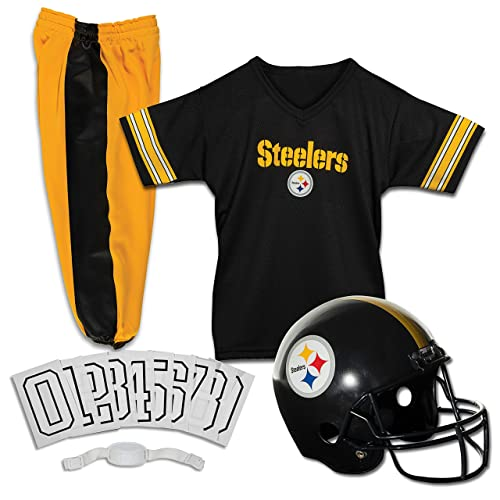 5a355ed73a2 NFL Steelers Childs Helmet and Uniform Set Costume