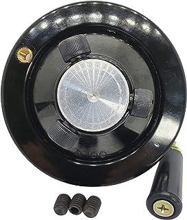 Diámetro del volante de alta calidad. 80 mm con mango girat