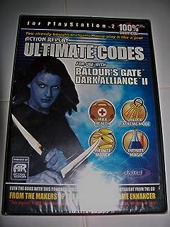 Ultimate Codes: Baldur's Gate Dark Alliance I & II: PS2