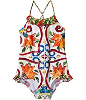 Dolce & Gabbana Kids - Swimsuit One-Piece (Big Kids)