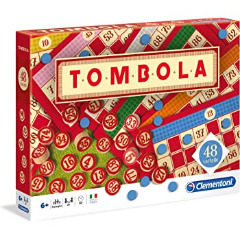 Clementoni - 16557 - Table Games - Classic Tombola