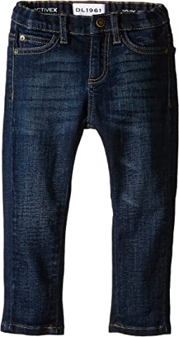 DL1961 Kids - Toby Slim Jeans in Ferret (Infant)