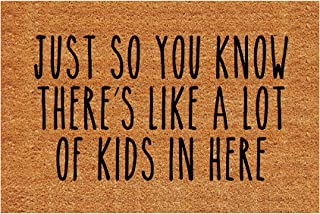 Best LuckyYoly Funny Doormat, Just So You Know There