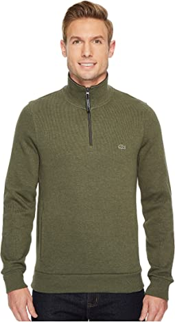 Lacoste - Rib Interlock 1/2 Zip