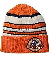 New Era Striped Select Denver Broncos