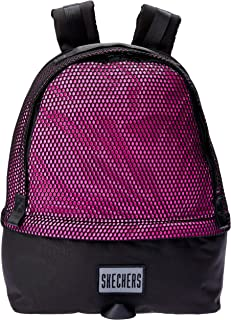 Skechers S548 Silver Mesh Lake Big Backpack, Pink, 45 Centimeters