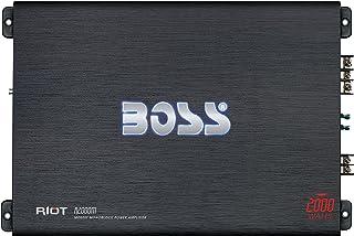 BOSS Audio Systems R2000M Monoblock Car Amplifier - 2000 Watt Amp, 2/4 Ohm Stable, Class A/B, Mosfet Power Supply, Great f... photo