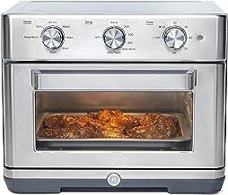 فر توستر 7 در 1 GE Mechanical Air Fry ، ظرفیت بزرگ متناسب با پیتزای 12 اینچی ، 7 حالت پخت و پز با هوا ، پخت ، نان تست ، گرم نگه داشتن ، پخت و پز ، برشته ، فولاد ضد زنگ ، G9OAABSSPSS