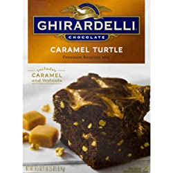 Ghirardelli Turtle Brownie Mix, 18.5 oz