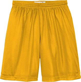 Hat and Beyond Mens Mesh Shorts Pockets Lightweight Plain Basketball Workout Jersey Fitness Gym Uniforms
