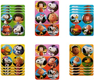 Charlie Brown Party Favors - 18 sheets 72 Count