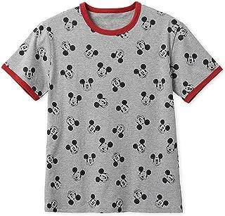 Mickey Mouse Allover Ringer T-Shirt for Men Multi
