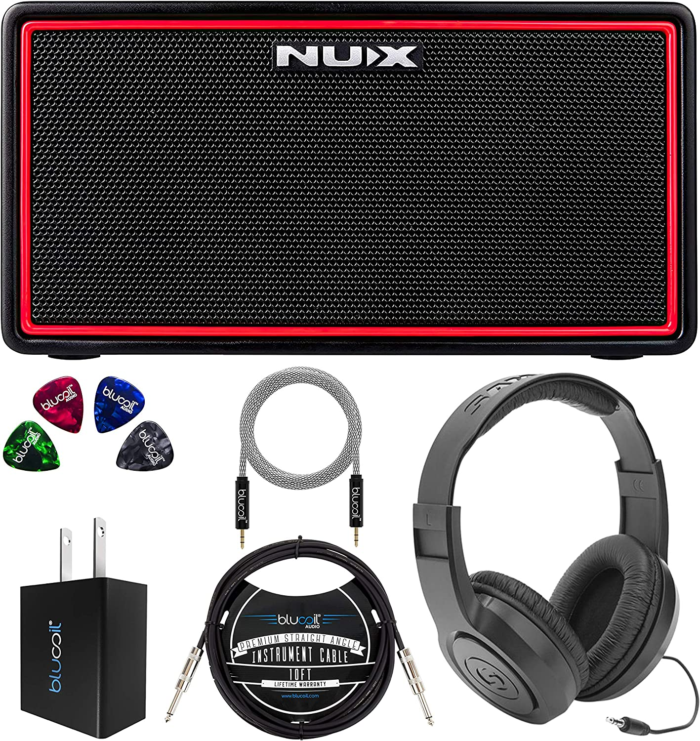 NUX Mighty Air Baltimore Mall Wireless Stereo Elegant Amplifier Bass Modelling Guitar B