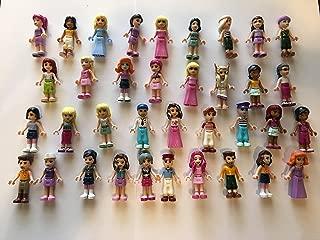 LEGO Friends Girl Female Male Minifigures - Lot of 10 Random Figures