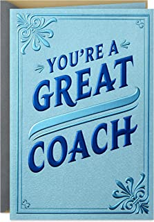 Best Hallmark Coach Appreciation Card (All You Do) Review