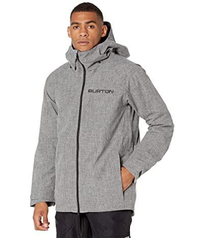 Burton GORE-TEX(r) Radial Insulated Jacket (Bog Heather) Men