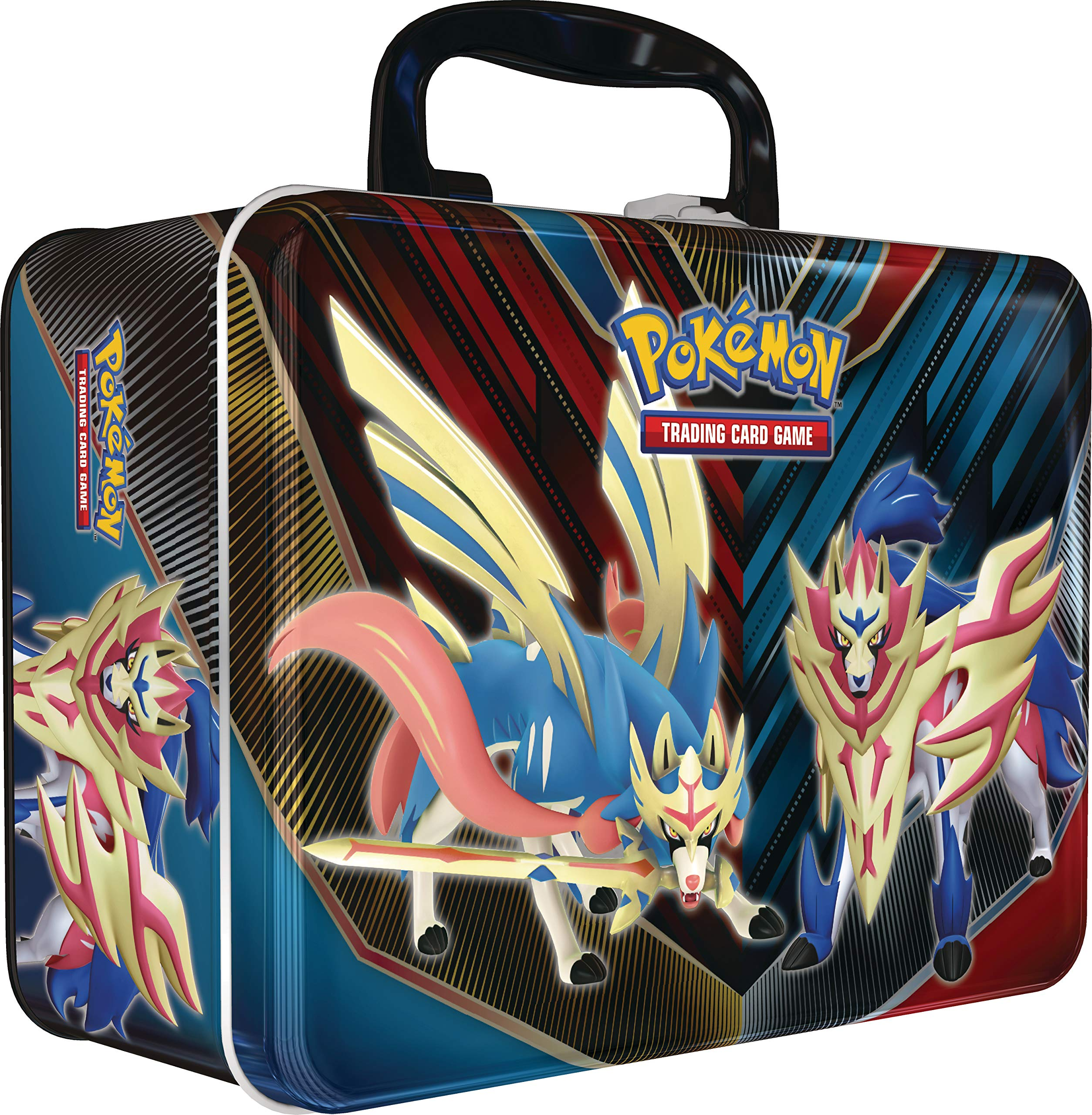 Amazon Com Pokemon Tcg Collectors Chest Tin Spring 2020 5 Booster Packs 3 Foil Promo Cards Toys Games Trainer goes to battle nessa for a badge with his new there's new pokemon sword and shield tins in stores! pokemon tcg collectors chest tin spring 2020 5 booster packs 3 foil promo cards