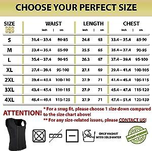 Goldenstarsport Neoprene Sweat Vest for Men Workout ~ Unique Two Zippers System
