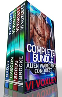 Alien Warlord's Conquest: Complete Series