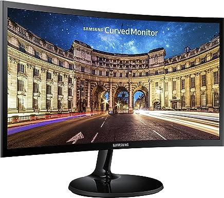 Samsung LC24F390FHU - Monitor para PC Desktop  de 24'' (1920 x 1080 pixeles, Full HD, HD 1080, 3000:1, mega contrast), color negro