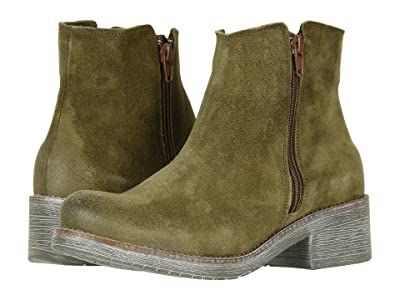 Naot Wander (Brushed Oily Olive Suede) Women