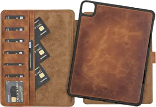 Venito Parma Magic Tablet Wallet Compatible with iPad Pro 11 inch (3rd Generation 2021 and 2nd Gen, 2020) - Handmade Leath...
