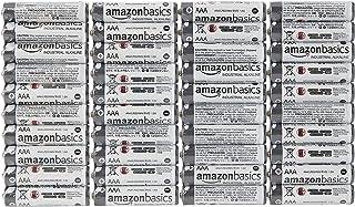 Amazon Basics Lot de 40 piles alcalines AAA industrielles