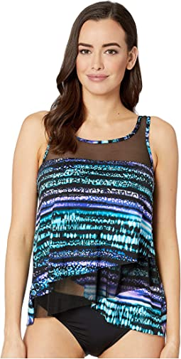 Cat Bayou Mirage Tankini Top