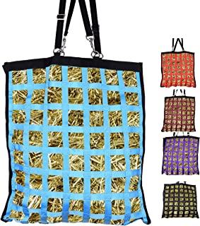 Westride Large Slow Feed Hay Bag with Newly Designed Super Tough Bottom Double Sided