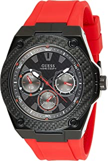 Guess Casual Watch for Men, Silicone, W1049G6