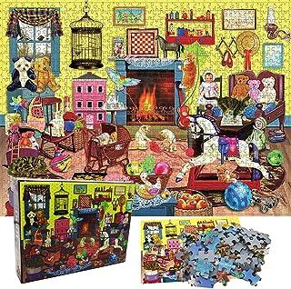 1000 Pièces Puzzles pour Adultes Enfants, Jigsaw De Paysage, Soulagement Stress Puzzles pour Adultes, Jeux De Défi Pédagog...
