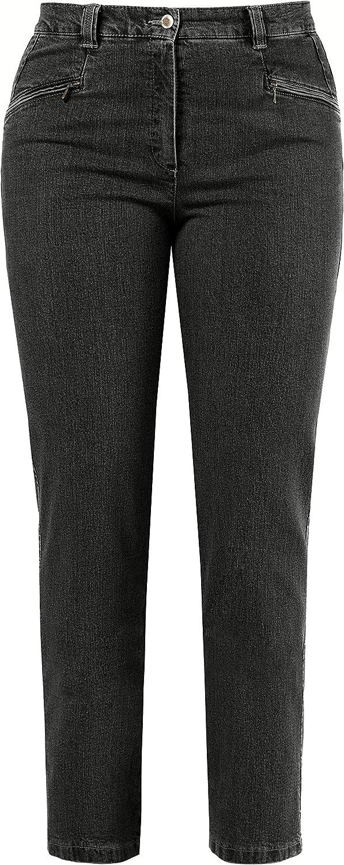 Ulla Easy-to-use Popken Women's Sale price Plus Size Slim Denim Fit Mony Jeans Stretch