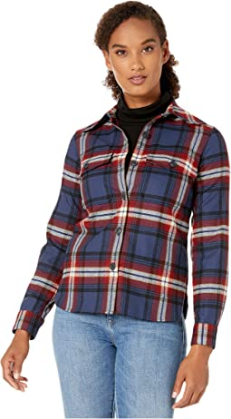Navy/Red Large Plaid