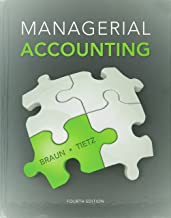 Managerial Accounting, Introduction to Financial Accounting, MyLab Accounting with eText and Access Card for Managerial Acct., MyAccountLab with eText ... for Intro to Financial Acct. (4th Edition)