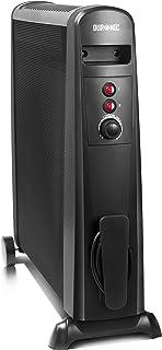 comprar comparacion Duronic HV101 Radiador Eléctrico 2500W de Panel de Mica - Estufa sin aceite que calienta en 1 minuto – Bajo consumo y ligero