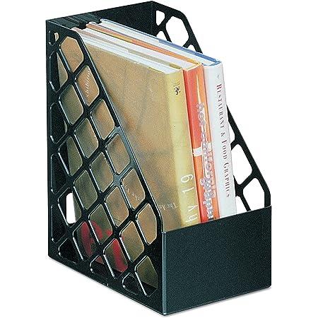 Avery Original Magazine Rack File High-impact Polystyrene A4 Plus Black Ref 440SXBLK Pack 6 Brand New