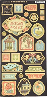 Graphic 45 Artisan Style Chipboard