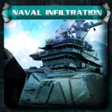 Naval Infiltration - Fixed Shooter - Paid Non-ad