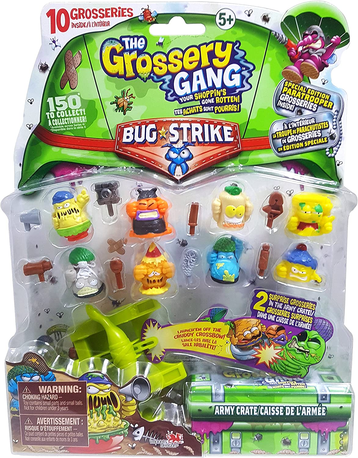 The Grossery Gang ID69100 S4 Bug Strike Large Pack