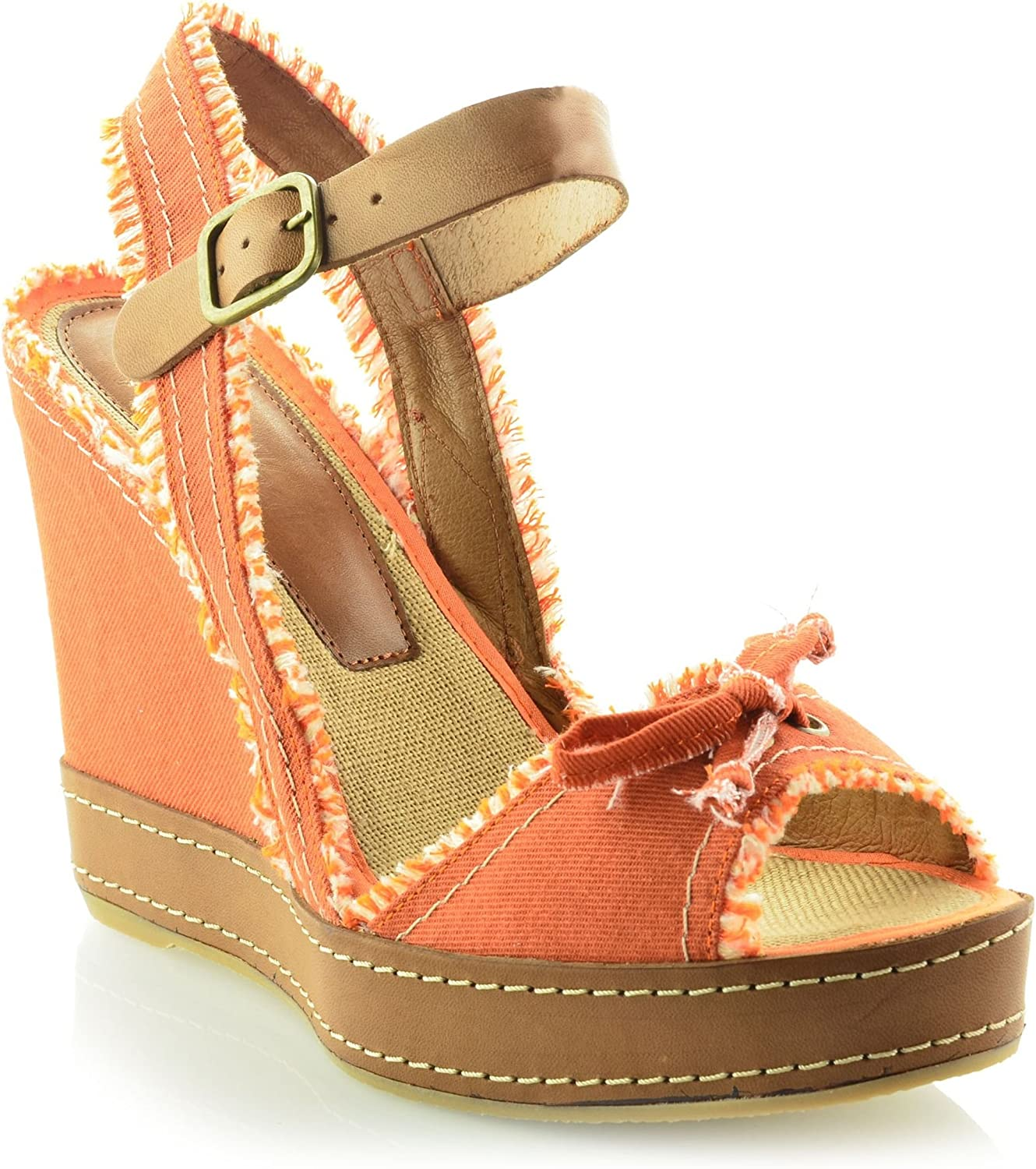 MTBALI - Wedge Sandals, Woman- Model San Diego