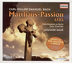 Bach, C.P.E.: St. Matthew Passion