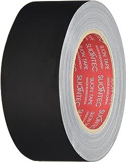 スリオンテック No.3345 ツヤ消し 布粘着テープ 50×25 黒